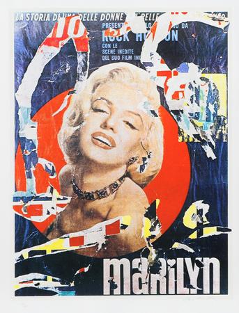 Marilyn 3 Eksklusivudgaver af Mimmo Rotella