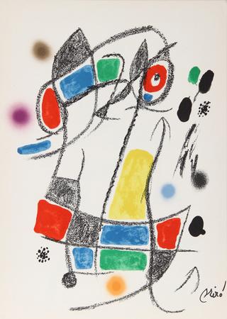Maravillas con Variaciones Acrosticas en el jardin de Miro (Number 3) Eksklusivudgaver af Joan Miró