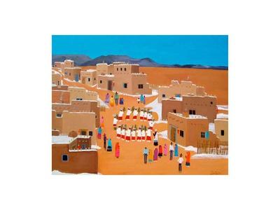 Pueblo Winter Fiesta Prints by Alexa Alexander