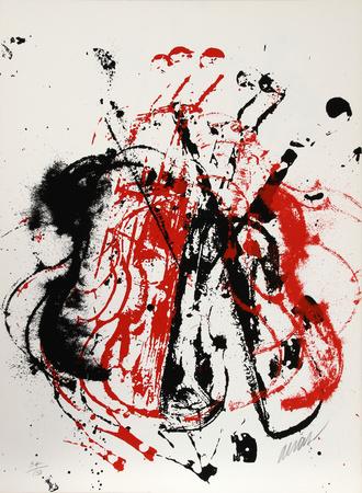 Violents Violin I Premium Edition by  Arman