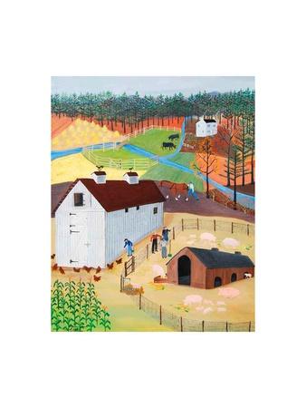 Tennessee Pig Farm Prints by Alexa Alexander