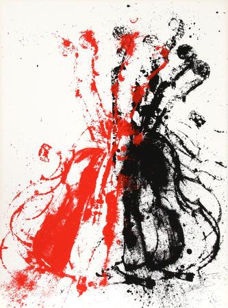 Violents Violin II Eksklusivudgaver af  Arman