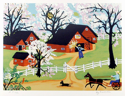 Apple Blossom Time Limited Edition by Kay Ameche