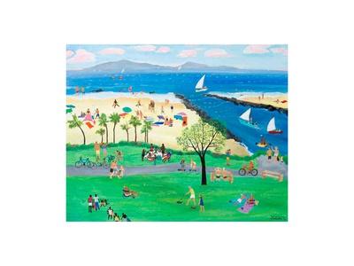 Summertime Corona del Mar Posters by Alexa Alexander
