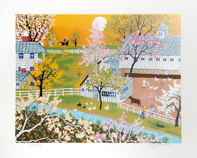 A Day on the Farm Limited Edition by Kay Ameche