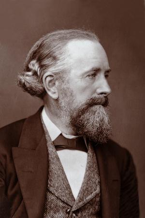 Edward Frankland (1825-1899) British Chemist Photographic Print