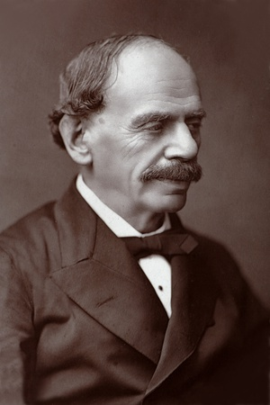 Julius Benedict (1804-1895) German-Born Composer and Conductor Photographic Print
