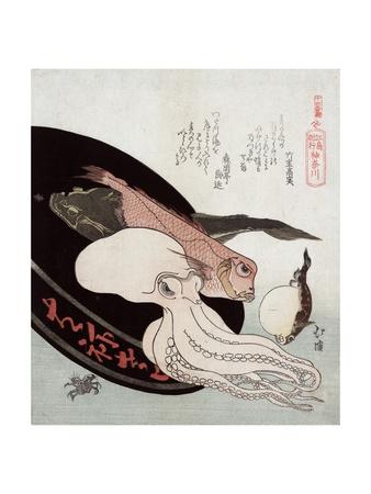 Kanagawa Giclee Print by Totoya Hokkei