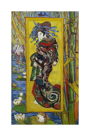 Courtesan: after Eisen Giclee Print by Vincent van Gogh