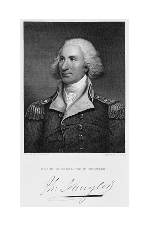 Major General Philip Schuyler Giclee Print by Thomas Kelly
