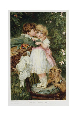 Over the Garden Wall Giclee Print by Frederick Morgan