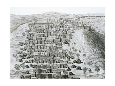 Timbuktu Engraving Giclee Print!