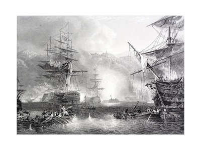 The Bombardment of Algiers Giclee Print