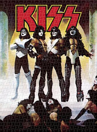 KISS - Love Gun 1000 Piece Jigsaw Puzzle Jigsaw Puzzle
