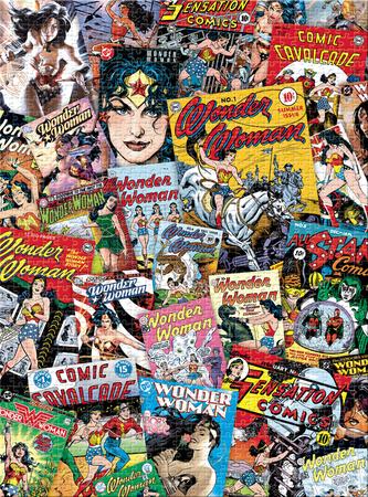DC Comics - Wonder Woman Jigsaw Puzzle Jigsaw Puzzle