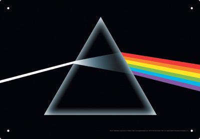 Pink Floyd Dark Side Tin Sign Tin Sign