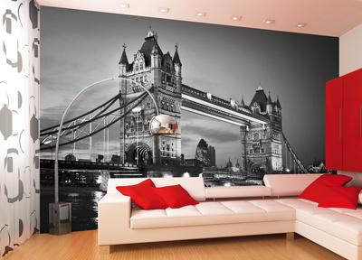 London Tower Bridge Wallpaper Mural Bildtapet
