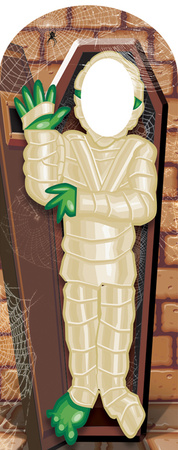 Mummy Stand-In Lifesize Standup Figura de cartón
