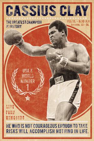 The Champion Giclee Print by  The Vintage Collection