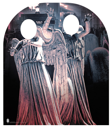 Weeping Angel Stand In- Child-sized Cardboard Cutouts