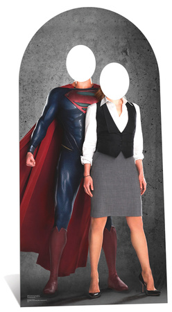 Superman and Lois Lane Stand In Figura de cartón