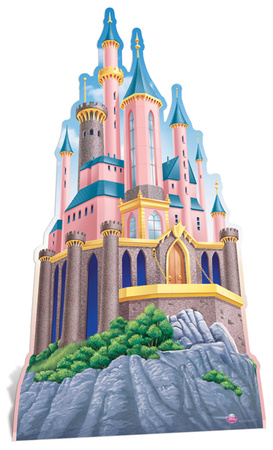 Disney Princesses' Castle Figura de cartón