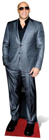 Vin Diesel Figura de cartón