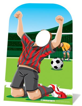 Football Stand In - Child-sized Figura de cartón