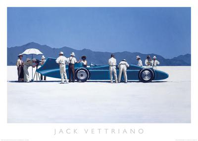 Bluebird at Bonneville Art by Jack Vettriano