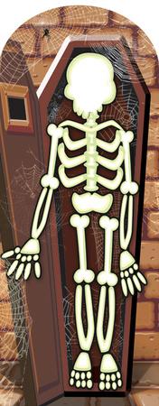 Skeleton Stand-In Figura de cartón