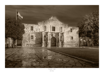 The Alamo Poster by Rod Chase