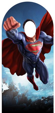 Superman 'Man of Steel' Stand In Figura de cartón