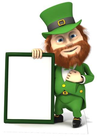 St Patrick's Day Sign Figura de cartón