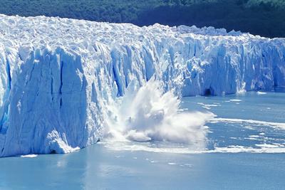 Glacier Ice Melting and Icebergs, Moreno Glacier, Patagonia, Argentina, South America Photographic Print by Marco Simoni