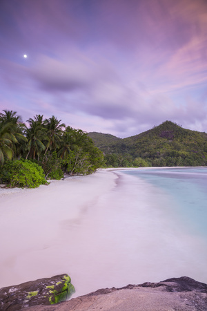 Beach in Southern Mahe, Seychelles Photographic Print by Jon Arnold