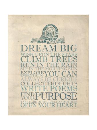 Dream Big Posters by Morgan Yamada