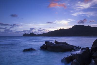 Tropical Beach, Southern Mahe, Seychelles Photographic Print by Jon Arnold