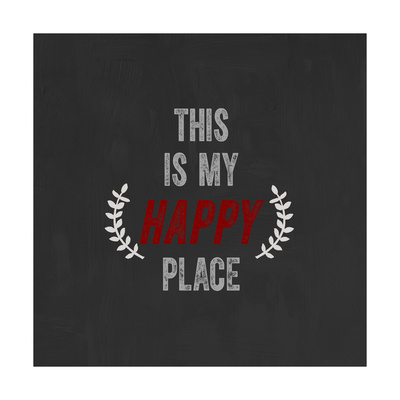 This Is My Happy Place Posters by Evangeline Taylor