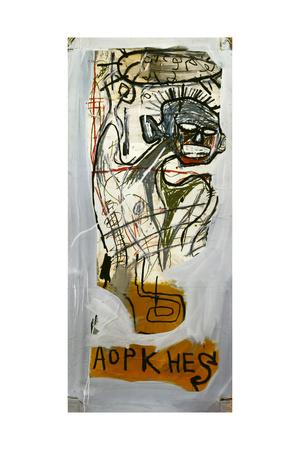 Untitled (Aopkhes) Giclee Print by Jean-Michel Basquiat
