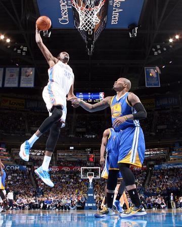 Jan 17, 2014, Golden State Warriors vs Oklahoma City Thunder - Kevin Durant Photo by Layne Murdoch