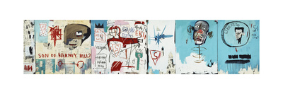 Life like Son of Barney Hill Giclee Print by Jean-Michel Basquiat