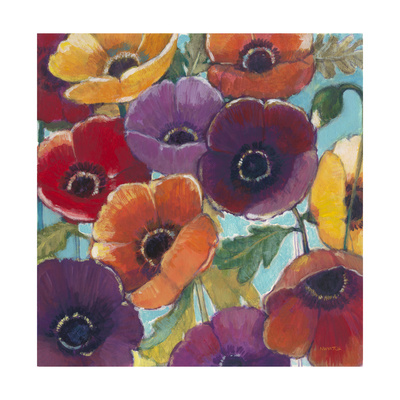 Electric Poppies 2 Prints by Norman Wyatt Jr.