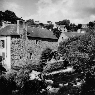 The Rosmadec Water Mill in Pont-Aven Photographic Print