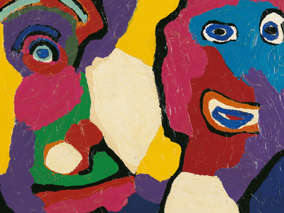 Untitled Giclee Print by Karel Appel