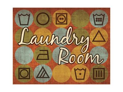 Laundry Symbols I Prints by N. Harbick
