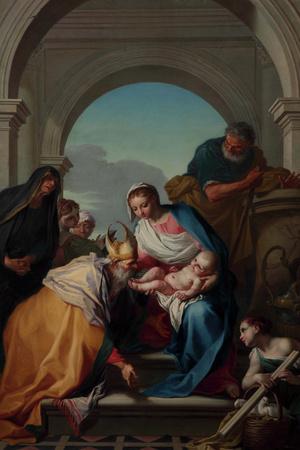 Presentation of Jesus at the Temple Giclee Print by Pietro Antonio Novelli