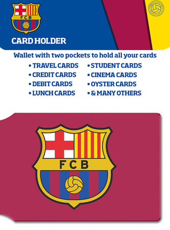 Barcelona Crest Card Holder Aparte producten