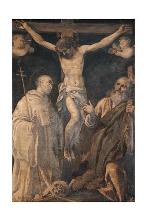 The Crucifixion Giclee Print by Bernardino Santini