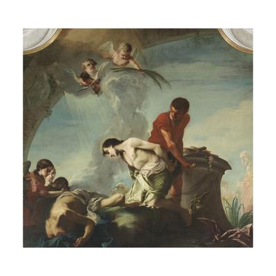 Decapitation of Saints Felice and Fortunato Giclee Print by Giambettino Cignaroli