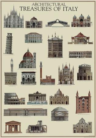Architettura Italiana Print